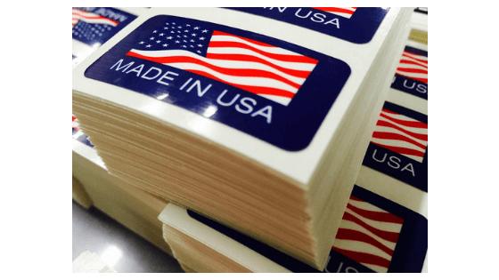 2x1 custom rectangle stickers