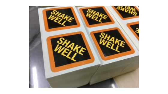 2x2 custom square stickers