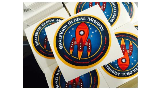 custom circle stickers