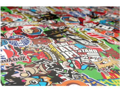 How To Sticker Bomb And What It Is