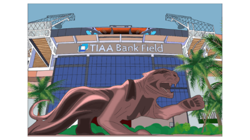 tiaa bank field sticker